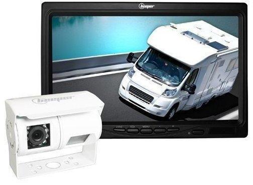 BEEPER mit Rückfahrkamera, Nachtsicht Kamera RWEC200X, BL, Weiß