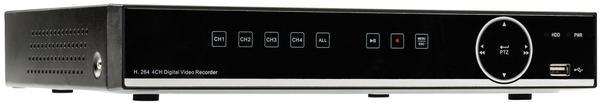 KÖNIG ELECTRONIC König 4 - Digitaler Kamerarecorder HDD 500 GB