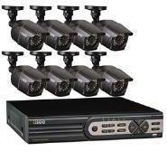 Q-See Videoüberwachungs-Set 16-Kanal mit 8 Kameras 2 TB QT5616-8E2-2
