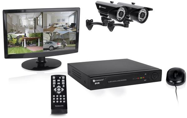 smartwares 10.037.81 DVR728S 8-Kanal Digitalrekorder,