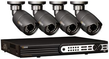 Q-See Videoüberwachungs-Set 8-Kanal mit 4 Kameras 2 TB QT718-480-2