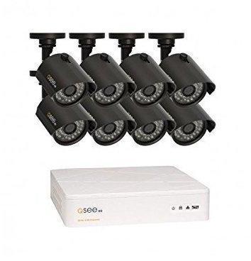 Q-See Überwachungsset 8-Kanal QTH8-4Z3-1 inkl. 4 Kameras