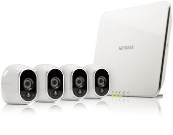 Netgear Arlo VMS3430 Sicherheitssystem mit 4 Kameras
