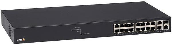 Axis 16-Port Gigabit PoE Switch (T8516)