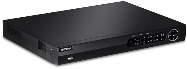 TRENDNET TV-NVR2208D2 - Standalone NVR - 8 Kanäle - 1 x 2TB - netzwerkfähig - Rack - einb