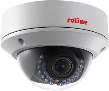 Roline 21197318Netzwerk Kamera(5MP, IR LED, PoE, 2,8-12mm) weiß