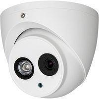 "Dahua ""4mp 1/3"""" Cmos Hdcvi 120db Wdr 3dnr 50m Ir 3,6mm Eyeball Dome Überwachungskamera"""