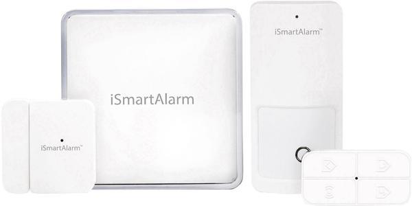 iSmartAlarm Funk-Alarmanlagen-Set ISA1G Starter-Pack