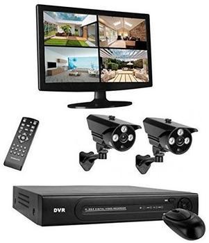 Smartwares DVR724S HD Videoüberwachungssystem