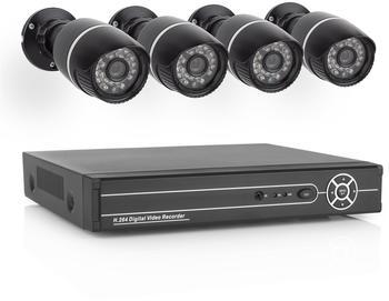 ELRO Videoüberwachungsset 4-Kanal mit 4 Kameras EL430DVR