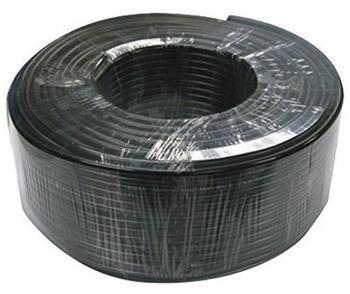 Nedis König - Kombiniertes Video-/Spannungsversorgungekabel - 100 m - Koax - Schwarz SAS-CABLE100 Koaxkabel