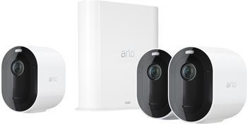 Arlo Pro 3 weiß (3 Kameras + Smarthub)