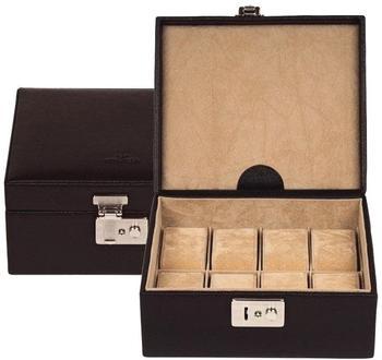 Windrose Beluga 8 Uhrenkassette schwarz (3860-08)