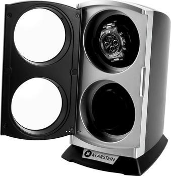 Klarstein St.Gallen Premium Uhrenbeweger 2 Uhren LED schwarz