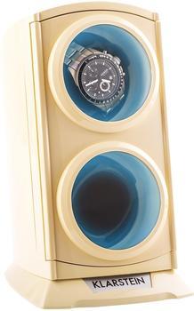 Klarstein St.Gallen Premium Uhrenbeweger 2 Uhren LED creme