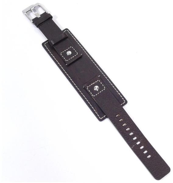 Fossil Ersatzband Leder schwarz 20mm für JR1190