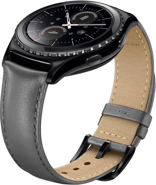 Samsung Gear S2 classic Lederarmband grau (ET-SLR73)