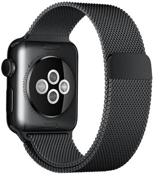 Apple 38mm Milanaise Loop Uhrarmband space schwarz