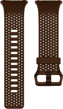 Fitbit Ionic Leder Wechselarmband L cognac