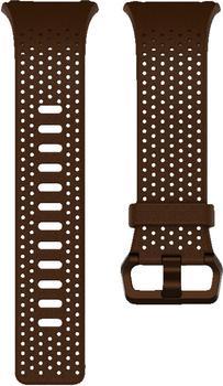 Fitbit Ionic Leder Wechselarmband S cognac