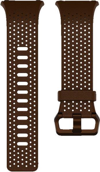 Fitbit Ionic Leder Wechselarmband cognac S