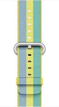apple-gewebtes-nylonarmband-fuer-apple-watch-42mm-zitronengelb-gestreift