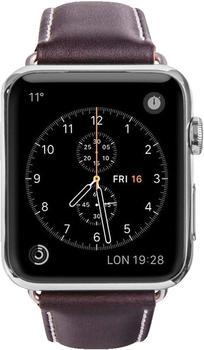 19twenty8 Copenhagen Strap for Apple Watch 42 mm hunter/silver