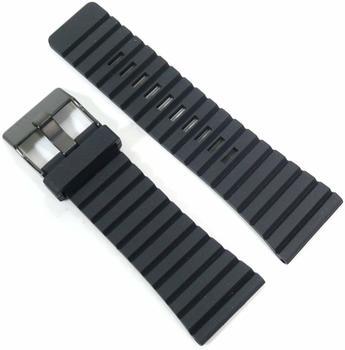 Diesel Uhrband Kautschuk schwarz für DZ1325