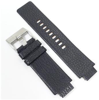 Diesel Uhrband Leder schwarz für DZ1091