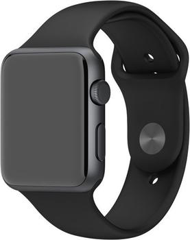 Apple Sportarmband für Apple Watch 42 mm schwarz