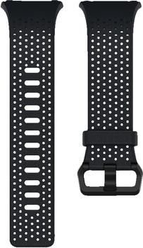 Fitbit Ionic Leder Wechselarmband midnight S