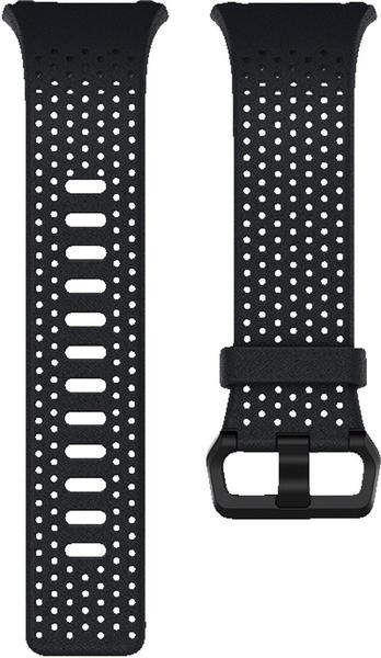 Fitbit Ionic Leder Wechselarmband midnight S