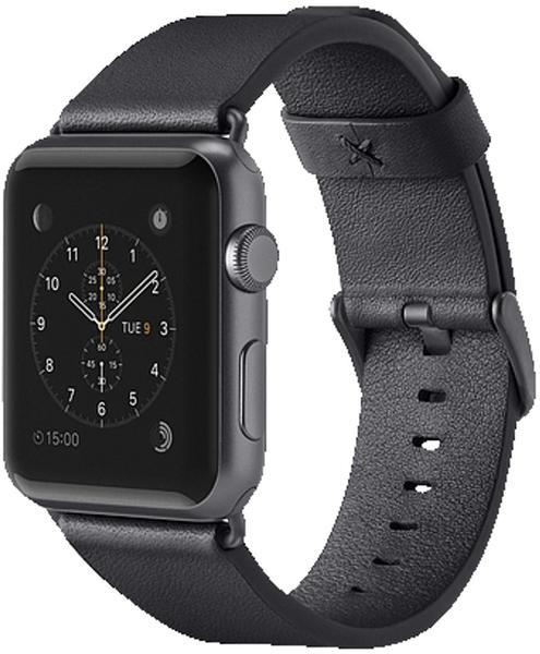 Belkin klassisches Lederarmband für Apple Watch 38 mm black