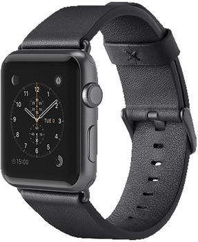 Belkin klassisches Lederarmband für Apple Watch 42 mm black