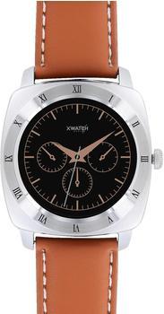 xlyne Watch Band for Xylne Nara XW Pro light cognac brown