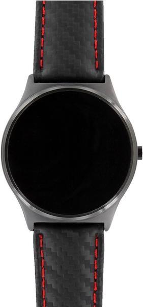 xlyne Watch Band for Xlyne Qin XW Prime II carbon red black