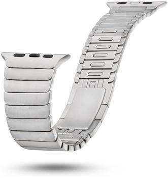 Bluestein Gliederarmband mit Doppeltfaltverschluss für Apple Watch Serie 1, 2 & 3 (42 mm)