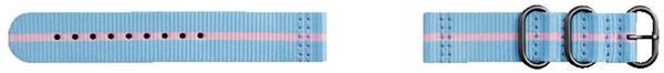 Strap Studio Premium Nato blau/pink