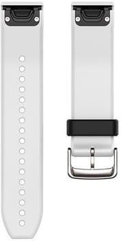 Garmin QuickFit 22 Watch Strap Silicone white