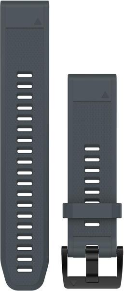 Garmin QuickFit 22 Watch Strap Silicone granite