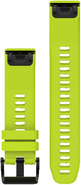 Garmin QuickFit 22 Watch Strap Silicone lime