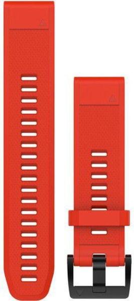 Garmin QuickFit 22 Watch Strap Silicone fite red