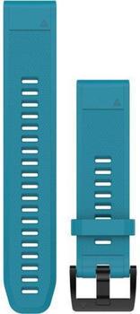 Garmin QuickFit 22 Watch Strap Silicone sky blue