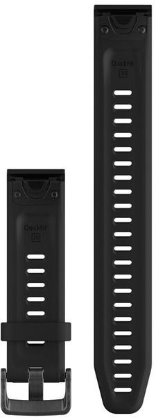 Garmin QuickFit 22 Watch Strap Silicone black/black
