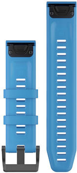Garmin QuickFit 22 Watch Strap Silicone cyan blue