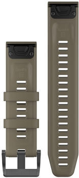 Garmin QuickFit 22 Watch Strap Silicone light brown