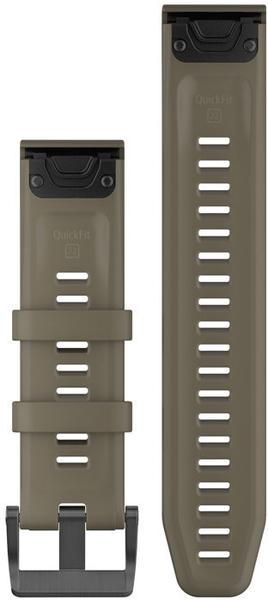 Garmin QuickFit 22 Watch Strap Silicone light brown