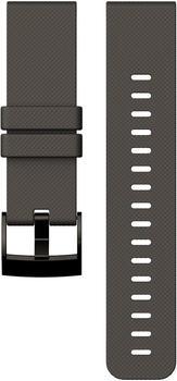 Suunto Traverse Silikonarmband graphit (SS022227000)