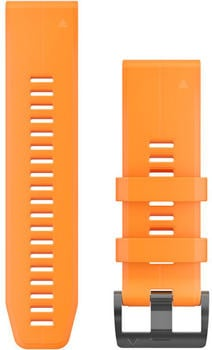 Garmin QuickFit 26 Silikonarmband solar flare orange (010-12741-03)