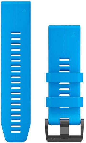 Garmin QuickFit 26 Silikonarmband cyan-blau (010-12741-02)